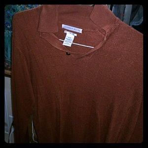 Geoffrey Beene Long Sleeve Collard Shirt